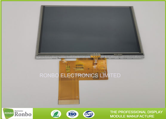 "Landscape 5"" IPS 800x480 400cd/m² Touch Screen LCD Display"