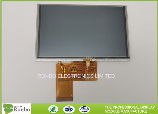 "800x480 IPS 5"" 650cd/m² Resistive Touch LCD Screen"