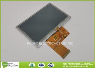 "800x480 450cd/m² 4.3"" IPS Resistive Touch TFT Display"